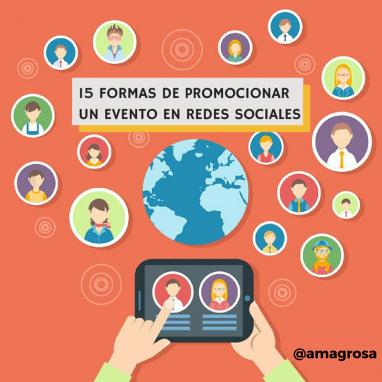 promoción eventos en redes