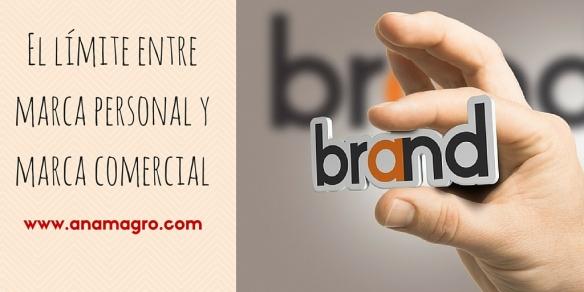 El límite entre marca personal y marca comercial